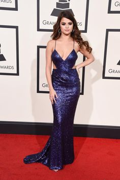 Most Talked About Red Carpet Looks of the 2016 Grammy Awards: Selena Gomez