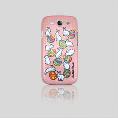 Samsung Galaxy S3 Case - Easter Rabbit - Pink (00062 - S3)