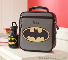 Kieran should have the Batman™ Classic Lunch Bag for Kinder next year potterybarnkids.com