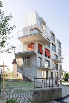 dreier frenzel . Collective housing . Renens (2)