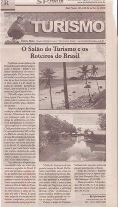 O Salão do Turismo e os roteiros do Brasil – Publicado em 08 de junho de 2006