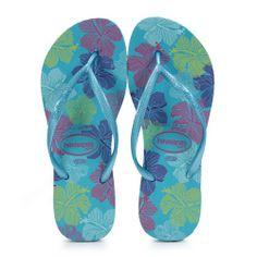 HAVAIANAS Junior Slim Allegra Ocean Green 4120879-2990 - Free Shipping- - TopBuy.com.au Xmas Gifts For Kids, Flip Flops, Ocean, Slim, Free Shipping, Sandals, Shoes, Fashion, Moda