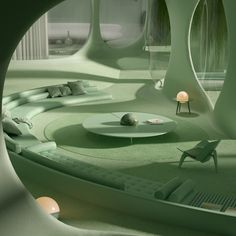 Multidisciplinary design studio creating Images, Films and Objects with a clean aesthetic, refined imagination and poetic composition. Futuristic Interior, Futuristic Architecture, Interior Architecture, Interior And Exterior, Minimal Architecture, Yacht Interior, Residential Architecture, Contemporary Architecture, Yacht Design