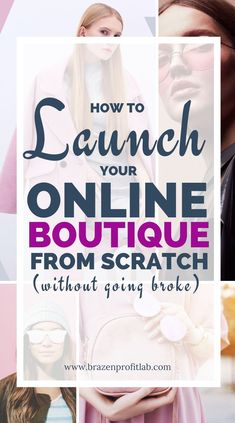 Beginner's Guide for Starting an Online Clothing Boutique Business Planning, Business Tips, Online Business, Business Launch, Boutique Names, Children's Boutique, Boutique Decor, Starting An Online Boutique, Wholesale Boutique Clothing