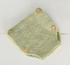 Ranita de lana en punto bobo   Nottocbaby