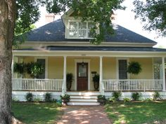Yellow House with White Trim | Share your yellow house - Home Decorating & Design Forum - GardenWeb