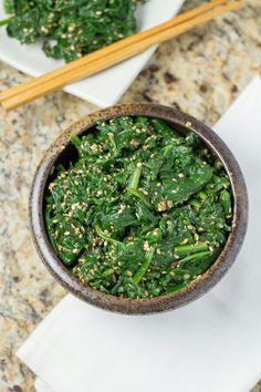 Gomae (Japanese Spinach Salad) - Salu Salo Recipes