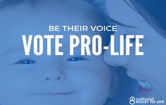 Here's the Important Reason Why You Must Vote for a Pro-Life Senate…