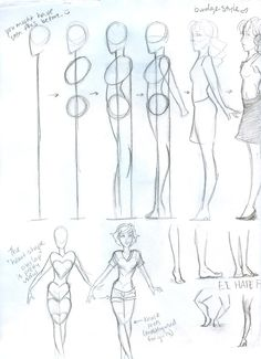Female Body Tutorial • Sketch