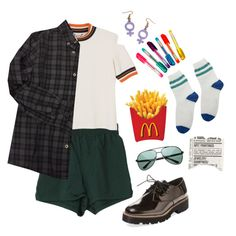 French Fries by briaud on Polyvore featuring Bonpoint, Monki, Renvy, ZeroUV, Dylan's Candy Bar and vintage