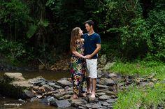 Ensaio De casamento, Abraçadinhos, roupas leves, cachoeira, abraço