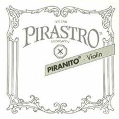 Pirastro Piranito Violin D String by Piranito (Pirastro). $7.62. Pirastro Piranito Violin D String Chromesteel wound on steel core.