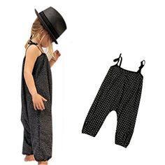 350d1c17d8d1 Amazon.com   Franterd Baby Girls Straps Rompers
