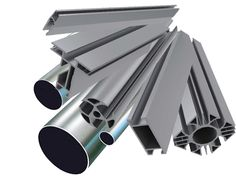 Aluminum tubes and extrusions