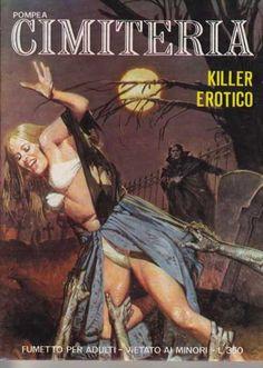 CIMITERIA #cover #pulp #comics #terror #fumetto