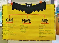 All About Bats http://theinspiredapple.blogspot.com/2011/10/groove-less-and-going-batty.html