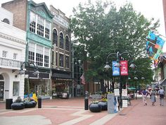 Charlottesville, Virginia; home of the University of Virginia, which Thomas Jefferson founded