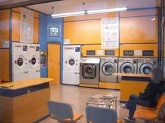 House Keeping Chemicals and Laundry Machine