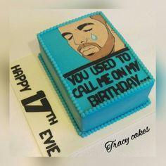 Drake birthday cake #Drake #birthday #cake