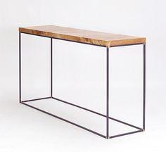 oak groupie console | designed & made by pachadesign. © pachadesign 2012.
