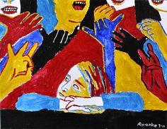 Nancy Rourke Paintings — KODA Child Awaits