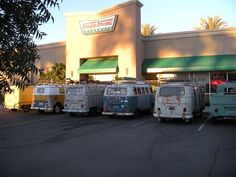 VW bus Donut patrol Krispie Kreme