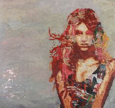 Hossam Dirar - Oil on Canvas Digital Collage, Collage Art, Modern Art, Contemporary Art, Black And White Painting, Hyperrealism, Art Blog, Female Art, Art Museum