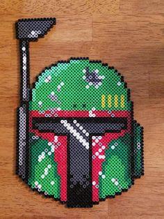 Boba Fett - Star Wars perler beads