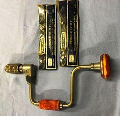 "CRAFTSMAN 10"" RATCHETING BRACE BIT HAND DRILL, WOOD HANDLES EXPANSIVE BITS   Collectibles, Tools, Hardware & Locks, Tools   eBay!"