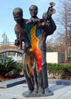 Buddy Bolden Sculpture, Armstrong Park, New Orleans