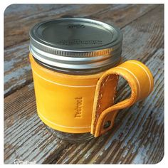 Leather Mason Honey by redrootblades on Etsy