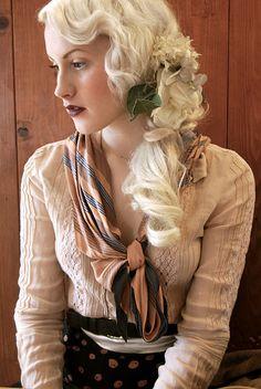 1920's hairstyle ~ stunning