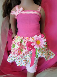 Doll Clothes 18 inch Dolls Precious Pink by HauteDesignsByNorine,