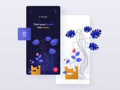 Trashify app - illustration
