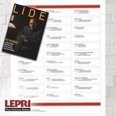 """Mídia impressa - Revista Lide destaca Lepri Finas Cerâmicas Rústicas na matéria """"Lide encerra ano fortalecido"""".<br /><br /><br />#lepri #lepriceramicas #revestimentos #bricks #ecologicos"""