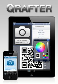 QR Code Generator. Select colors for foreground and background.