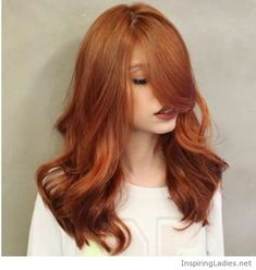 I want this hair color for fall | Inspiring Ladies