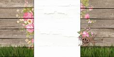 blogger backgrounds | easter glade free blog background layout copy