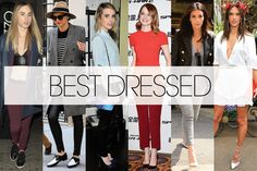 Best Dressed The Week in Outfits - Best Dressed Celebrities March 28 - ELLE#slide-1 / March 28th, 2014 / http://www.elle.com/fashion/celebrity-style/best-dressed-celebrities-march-28#slide-1