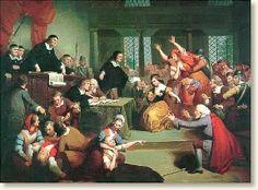 The Salem Witch Trials, 1692