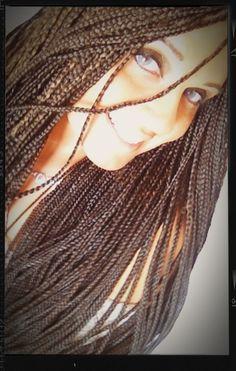 My African Braids #braids #africanbraids #treccine #treccineafricane #hair #longhair #hairstyle #summer #summer2013 #estate #estate2013 #fashion #girl