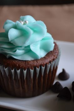 Double chocolate chip cupcake!