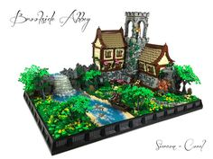 LEGO Tutorials by Sean and Steph Mayo - Brookside Abbey Micro Lego, Lego Army, Medieval Houses, Lego Castle, Cool Lego Creations, Lego Design, Lego Worlds, Lego House, Lego Projects