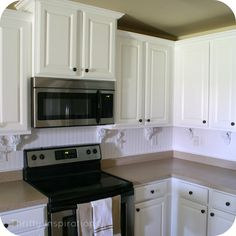 kitchen counter and cabinet transformations