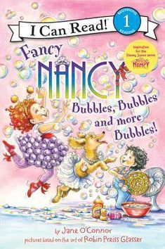 Fancy Nancy: Bubbles, Bubbles, and More Bubbles! - Browse and buy the Hardcover edition of Fancy Nancy: Bubbles, Bubbles, and More Bubbles! by Jane O'Connor . Sounding Out Words, Loose Tooth, Big Bubbles, New Children's Books, Fancy Nancy, Tiny Dancer, Reading Online, Books Online, Free Books