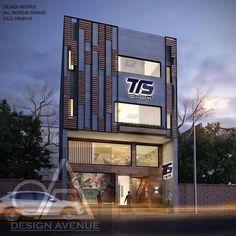 Shopping Mall Architecture, Office Building Architecture, House Architecture Styles, Hotel Architecture, Building Exterior, Commercial Architecture, Railing Design, Facade Design, Exterior Design