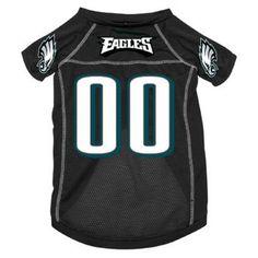 Philadelphia Eagles NFL pet dog mesh football jersey XS 4-10lbs Hunter $16.99