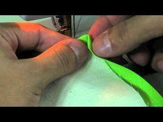 Esquina Basica con Biés : Costura - YouTube
