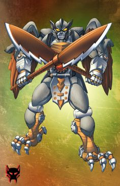 Beast Wars Silverbolt by Dan-the-artguy on @DeviantArt