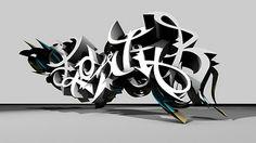WILDSTYLE 3D GRAFFITI ART